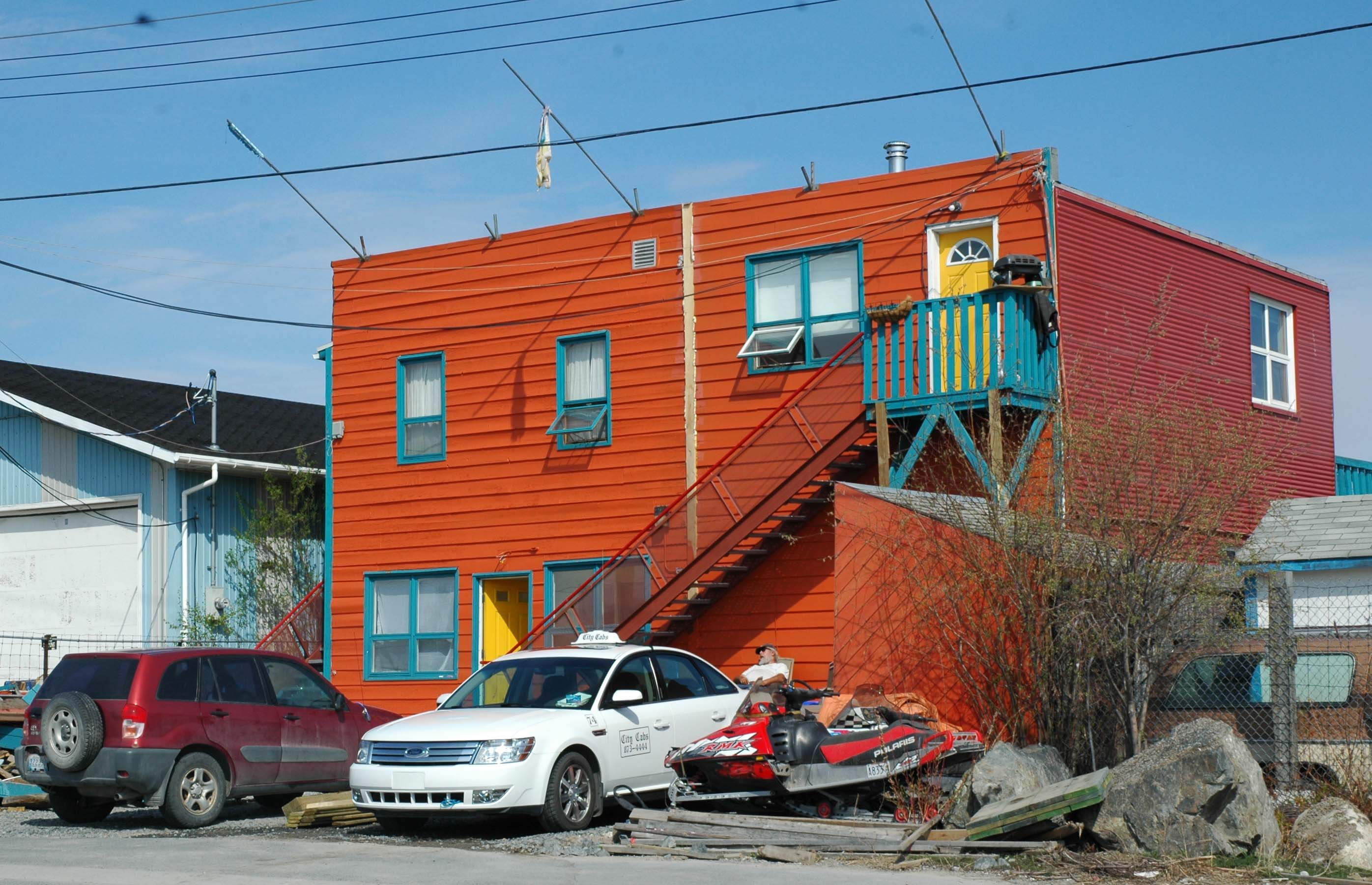 Yellowknife - Old Town Color