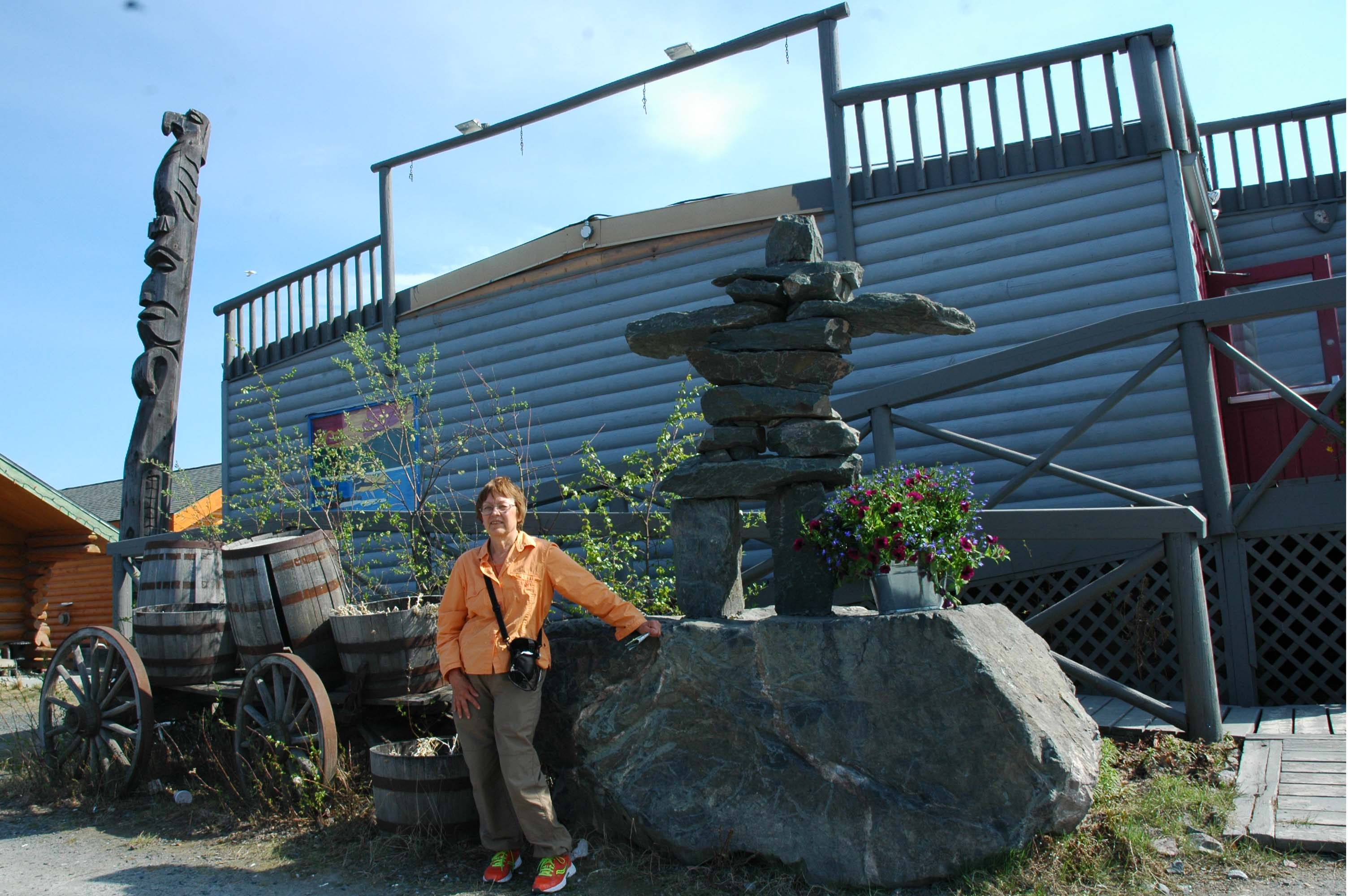 Local Inukshuk - Old Town Resident