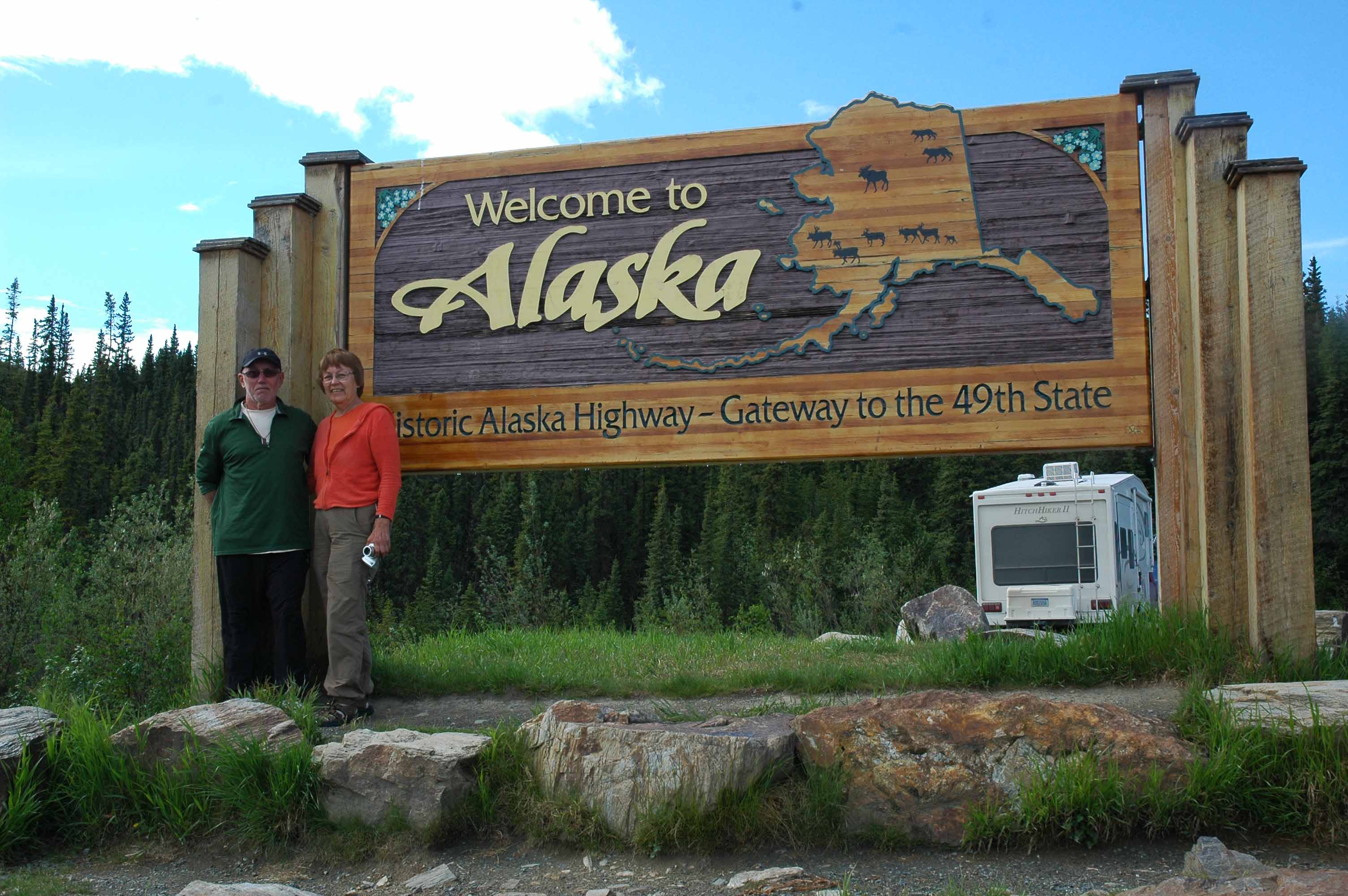 The goal is Alaska - We made it!