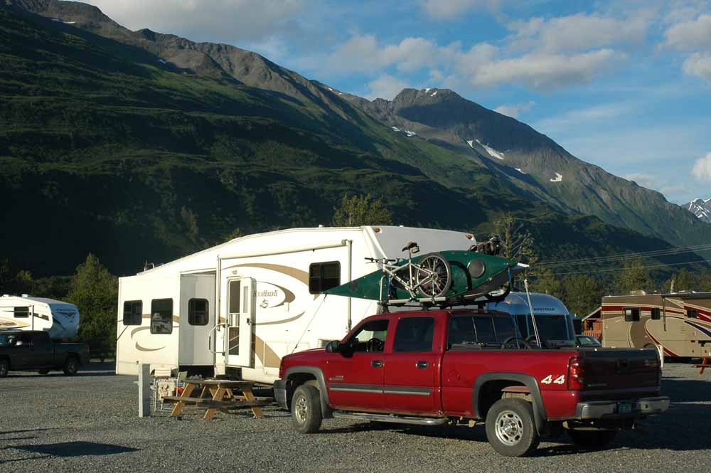 RV Park with Great Views but Feels Like a Parking Lot!