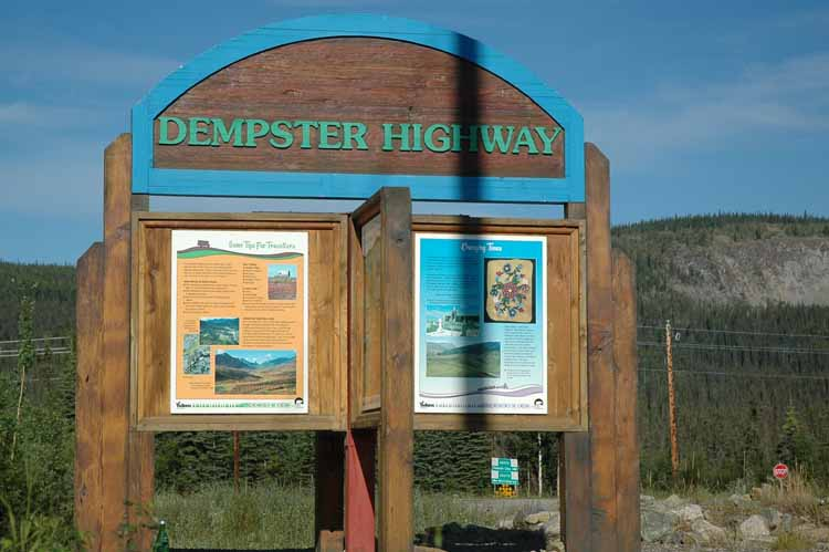 Dempster Highway to Inuvik, Northwest Territory