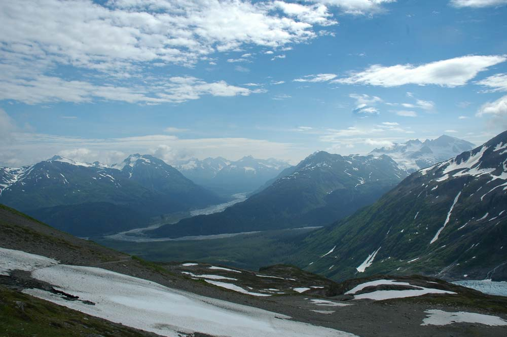 Exit Glacier Moraine View...Awesome