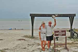 Padre Island National Seashore - Camp Ground Hosts