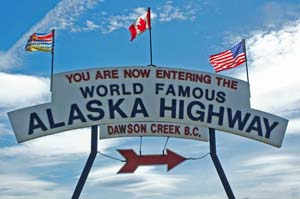 Alaskan Highway - Dawson Creek, BC