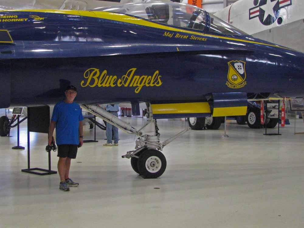 Naval Aviation Museum -  Larry