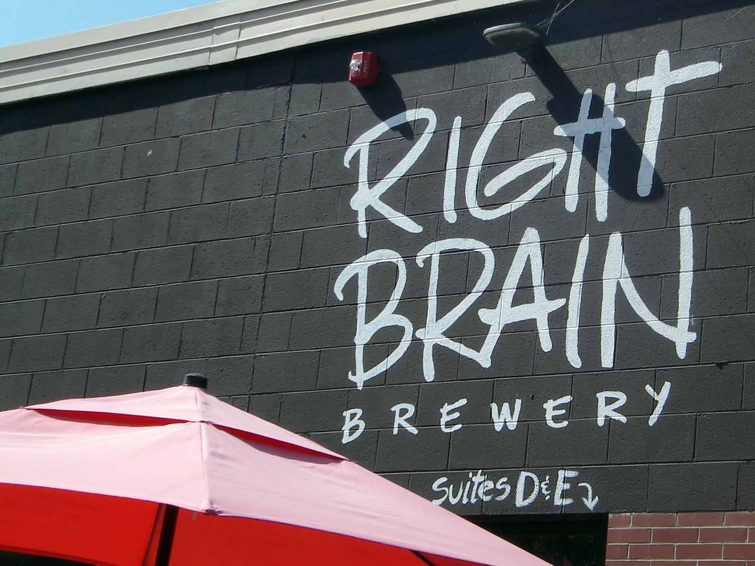 Right Brain Brewery an old favorite