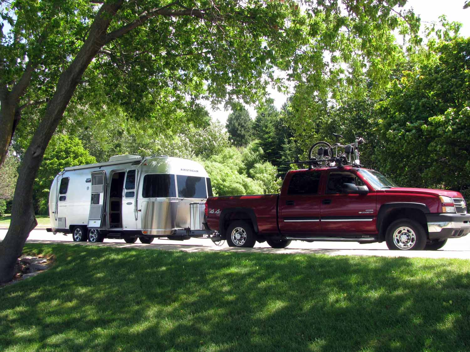 Bringing the RV home to Northern Michigan in june
