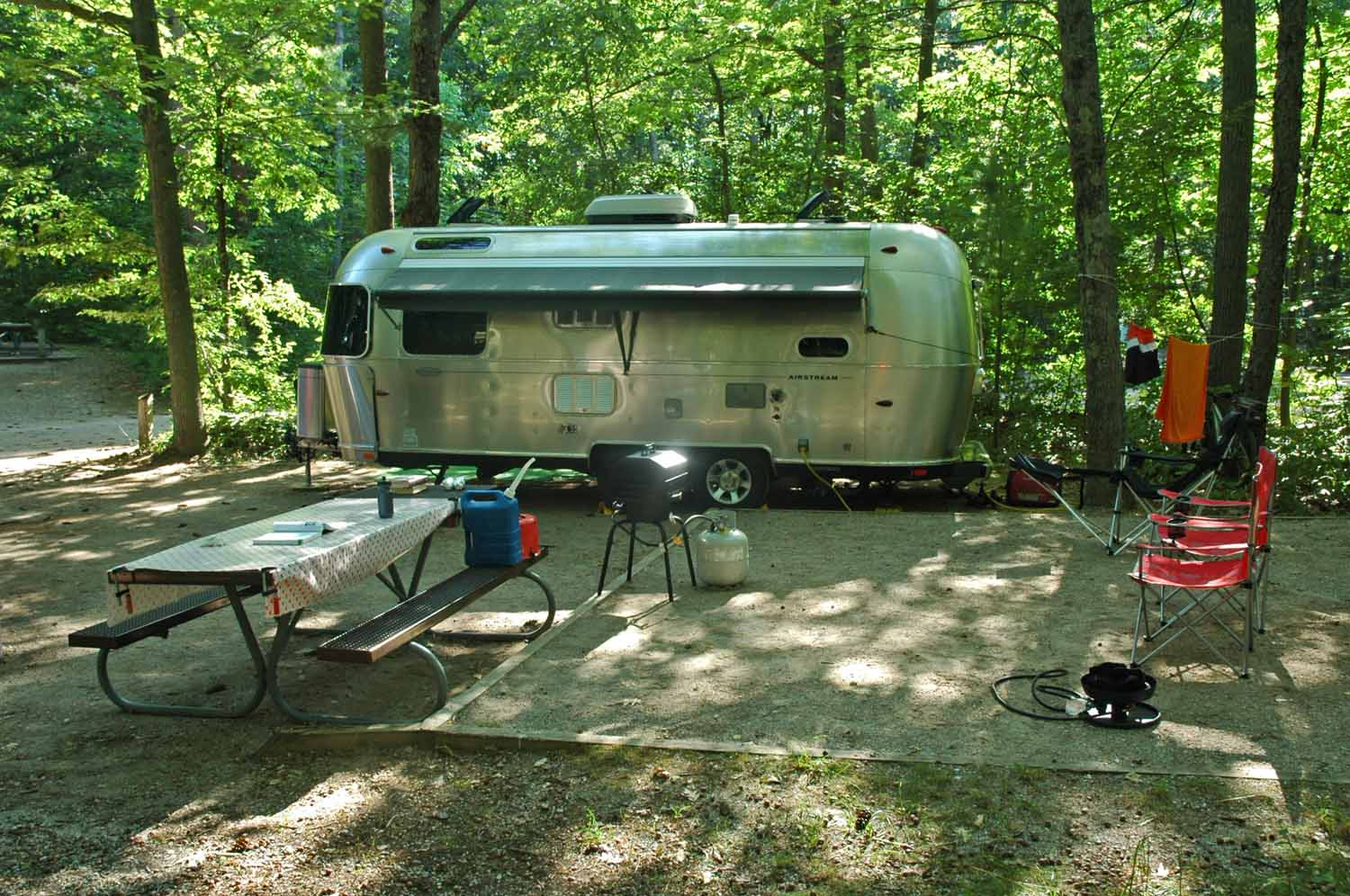 RV living is a great life style even in a small trailer