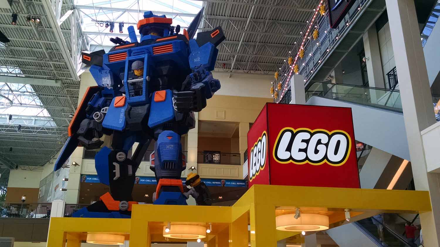 Great fun viewing the Lego displays...
