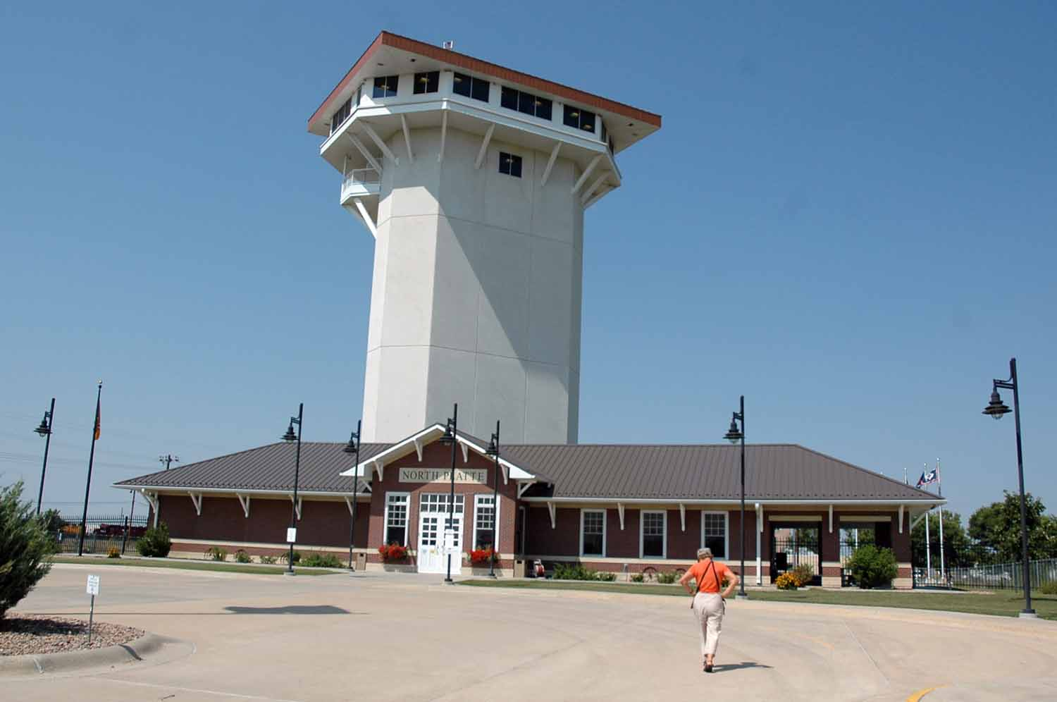 Golden Spike Tower in North Platte Nebraska
