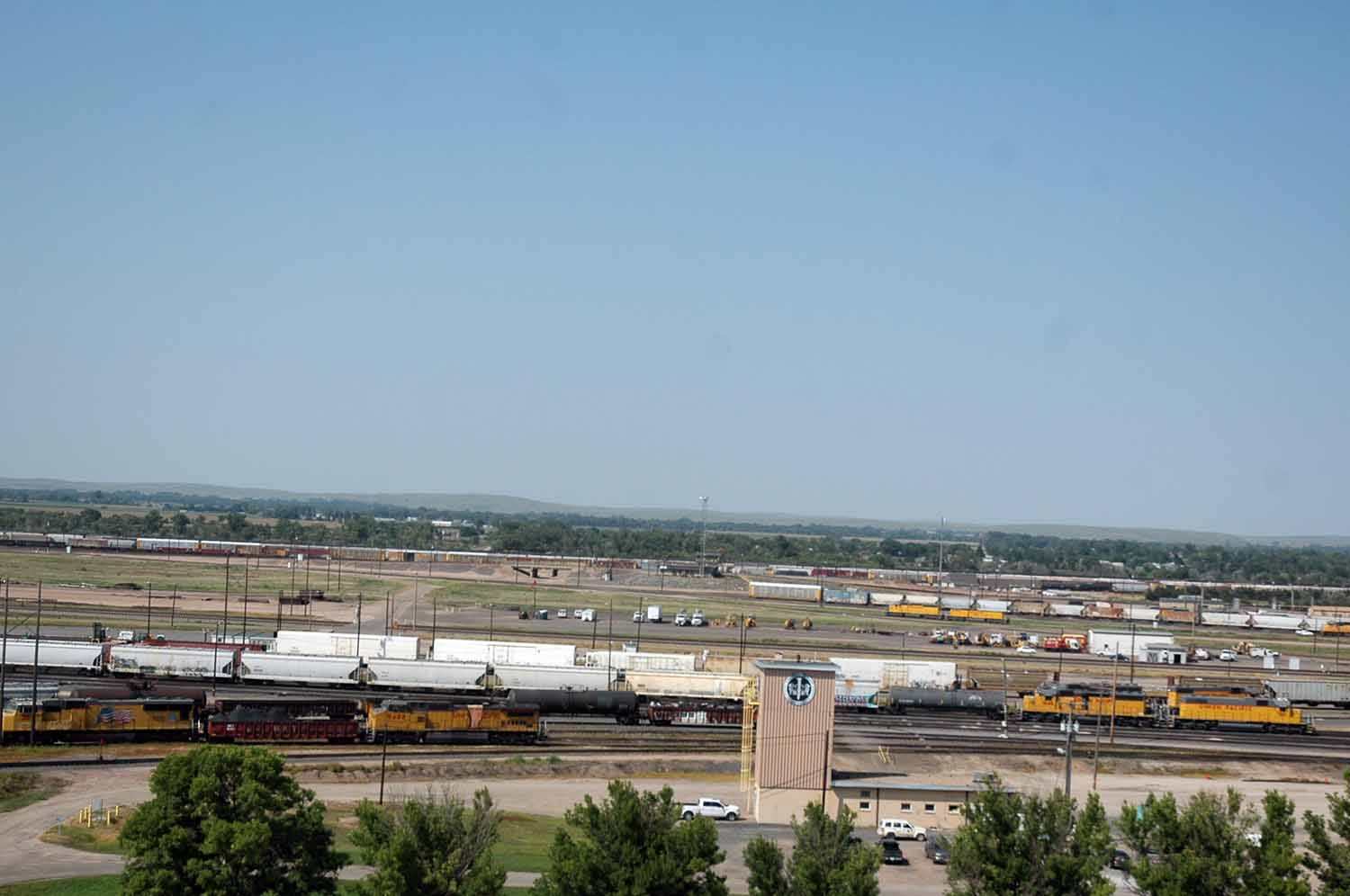 Union Pacific Bailey Rail Yard North Platte - 2,850 acres
