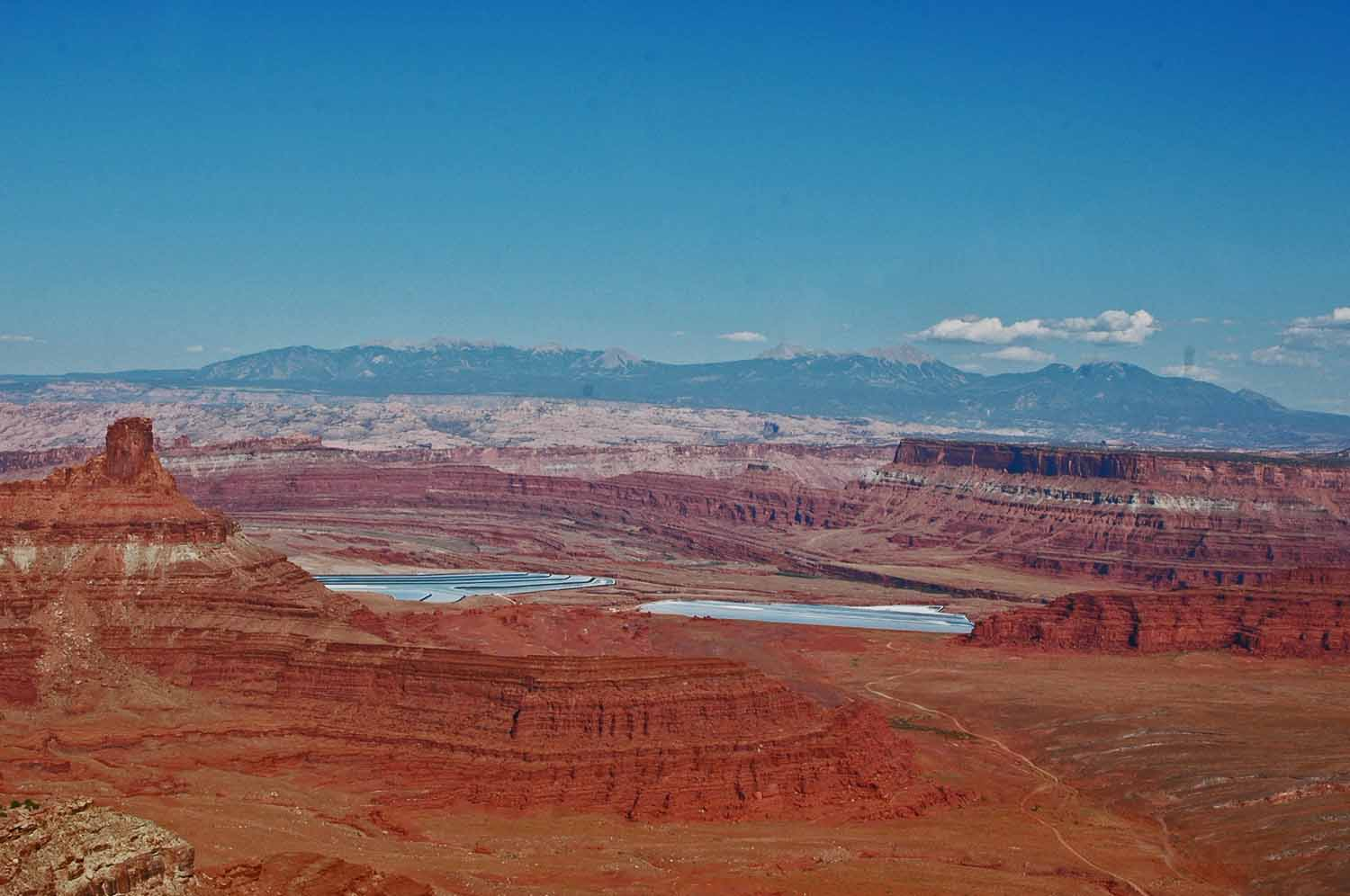 Dead Horse Point - Phosphate mining in the valley