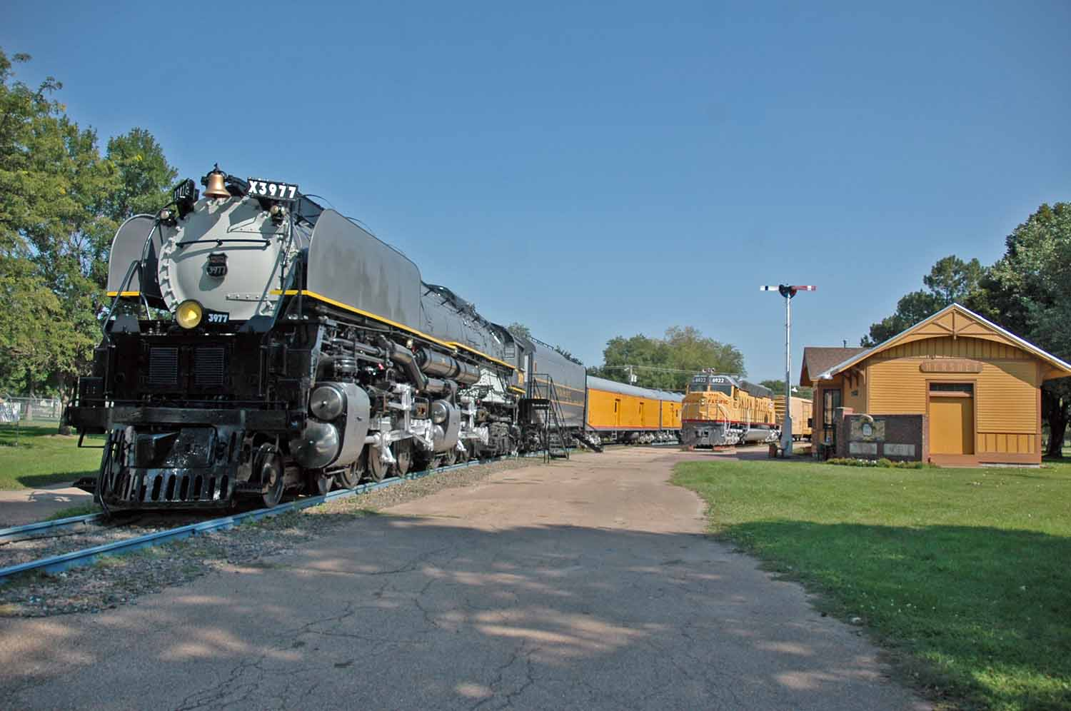 Rail museum in North Platte Nebraska