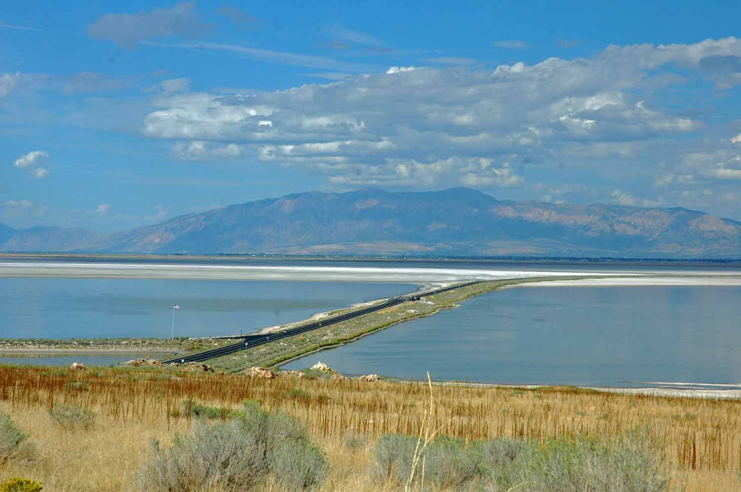 Access to Antelope Island in the Great Salt Lake