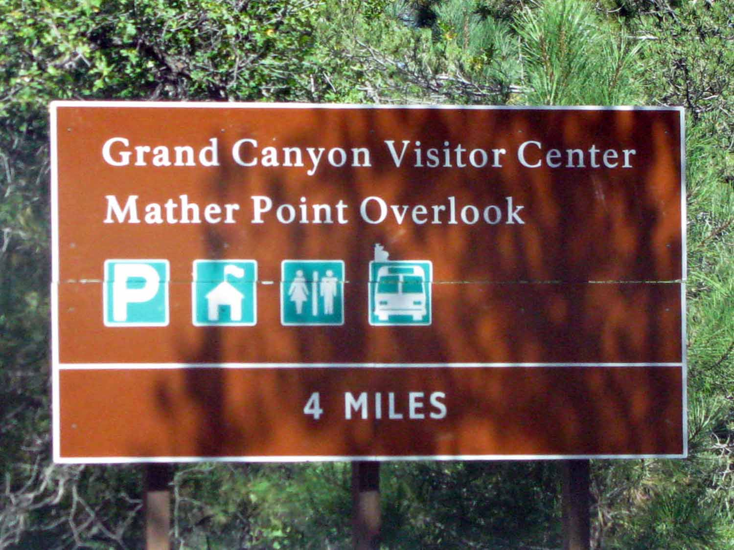 Here we are at the Grand Canyon staying at Mather Campground