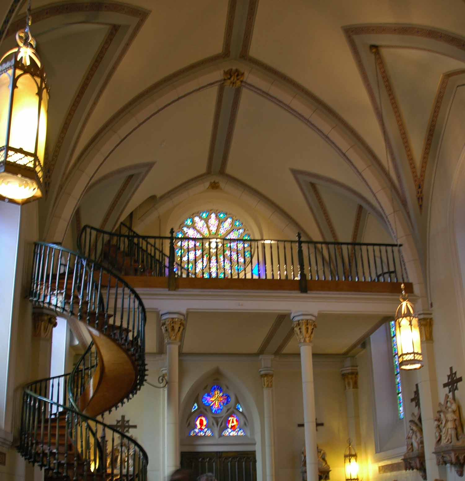 Loretti Chapel and staircase