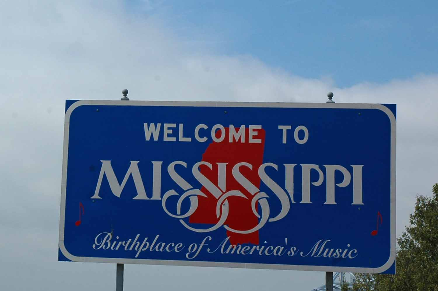 Moving on to Mississippi