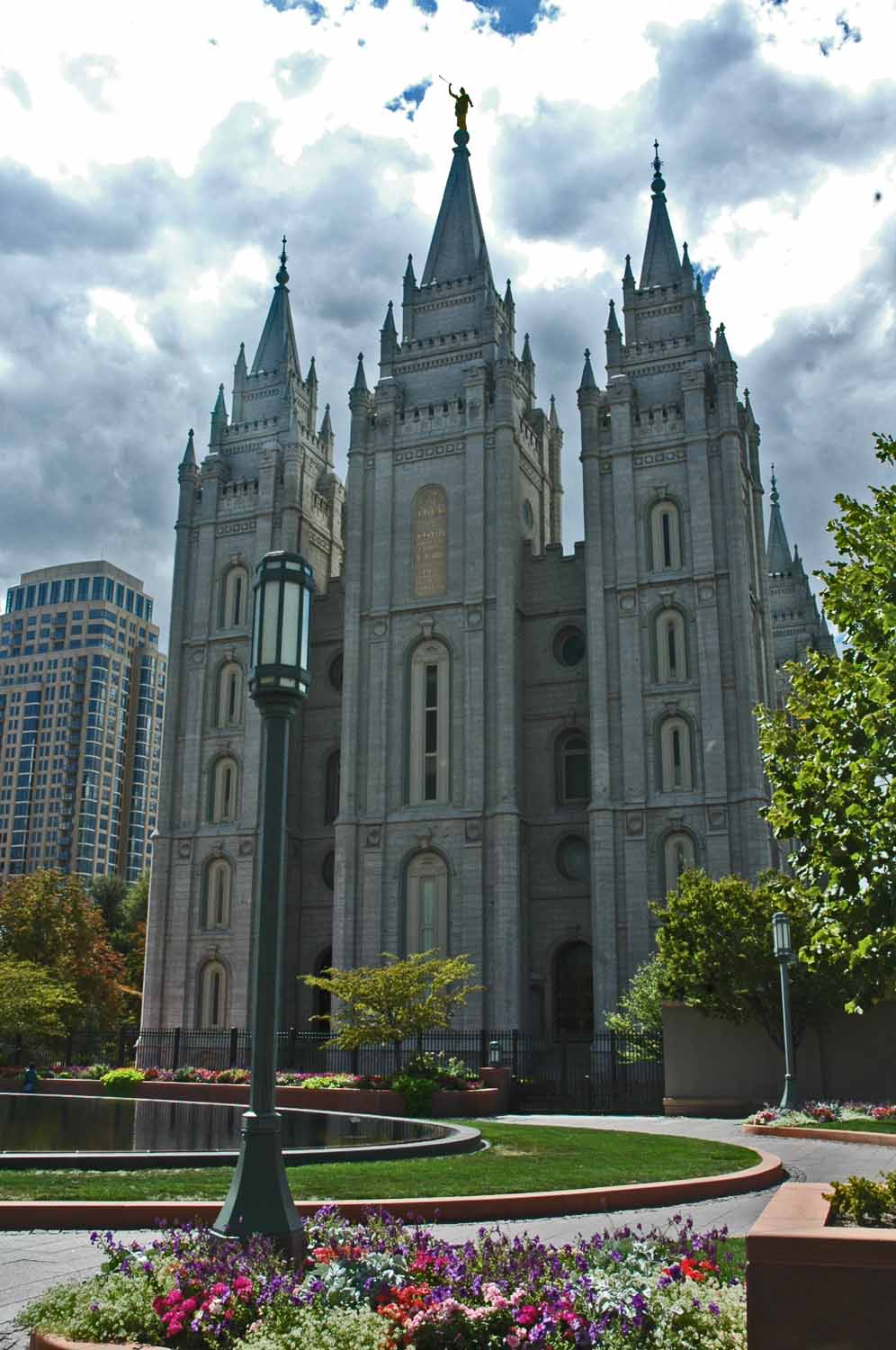 South Utah was an adventure...here we are in Temple Square in Salt Lake