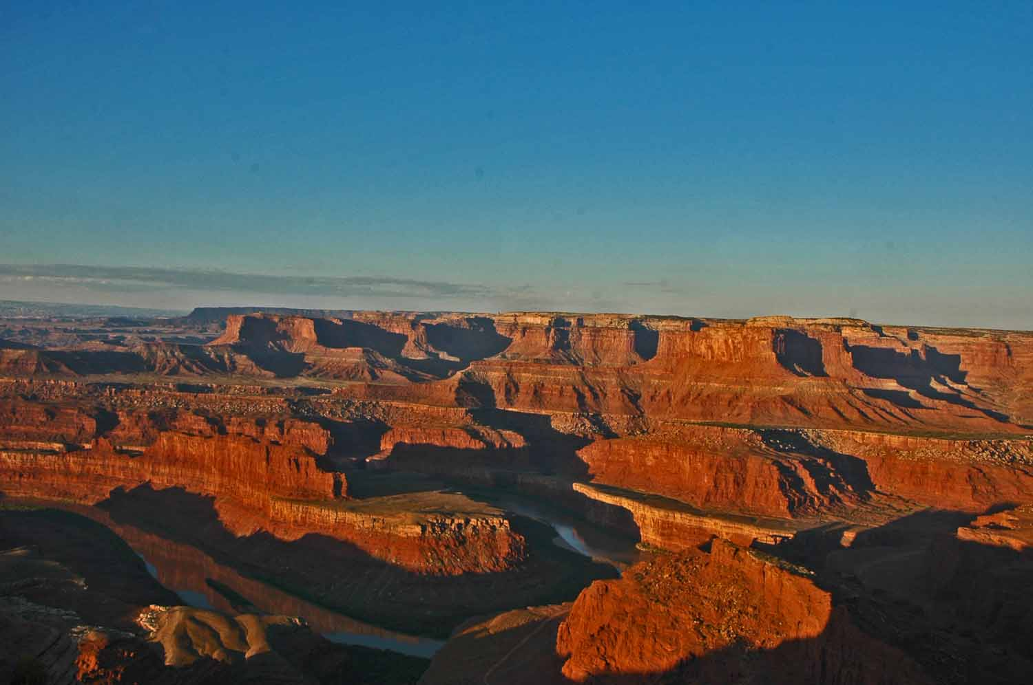 Dead Horse Point State Park...a favorite...love the Colorado River plus it is more fun at sunset