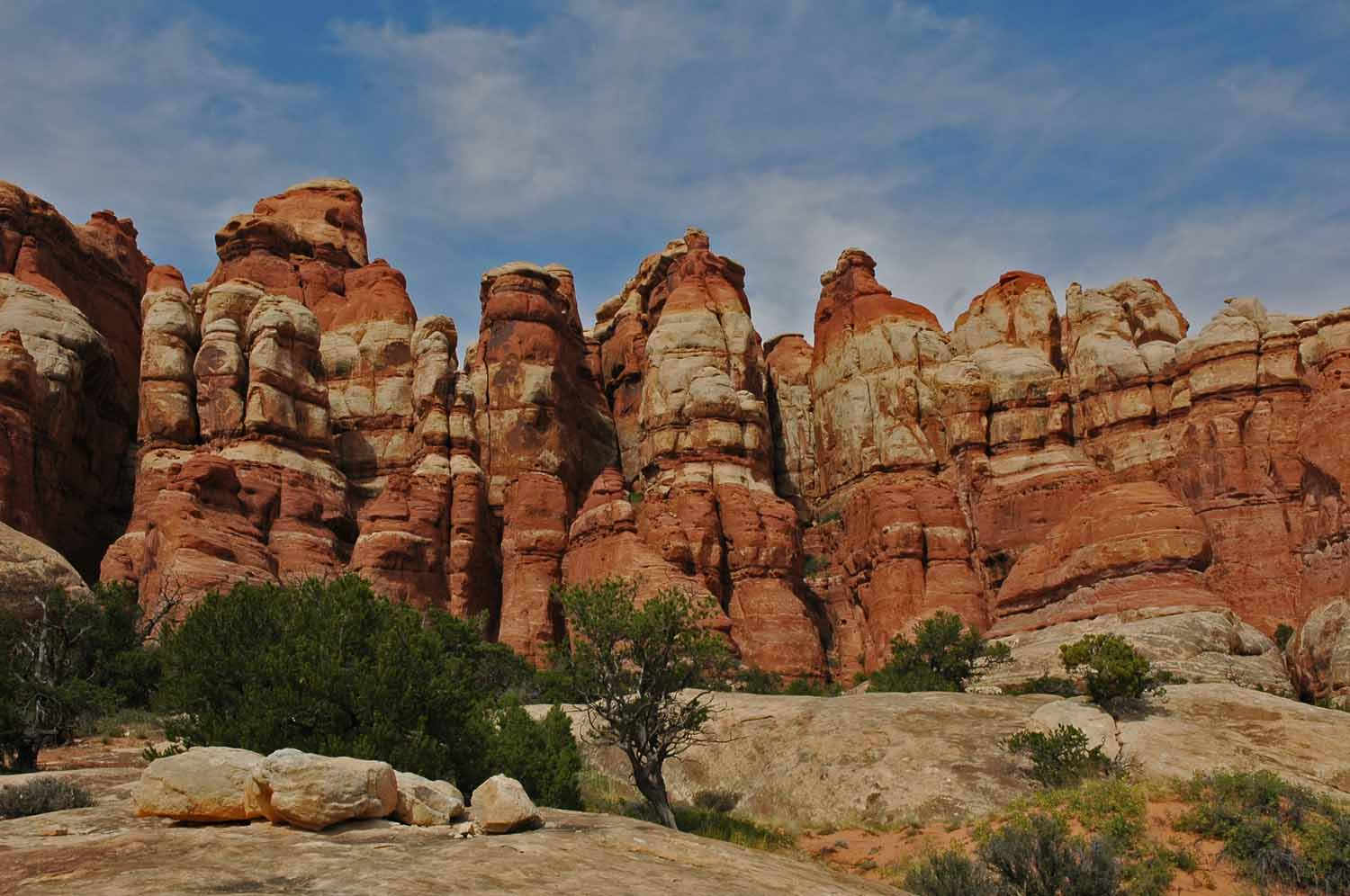 Love the red rock formation...Canyon Land