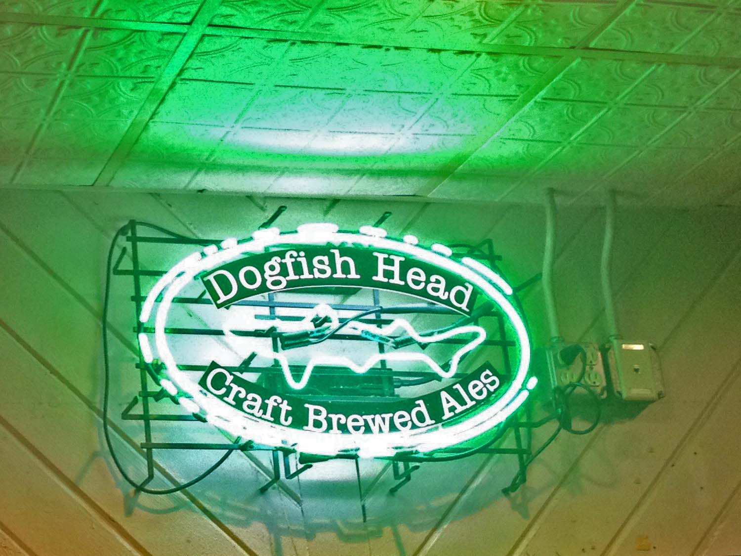 Dogfish Head great craft beer