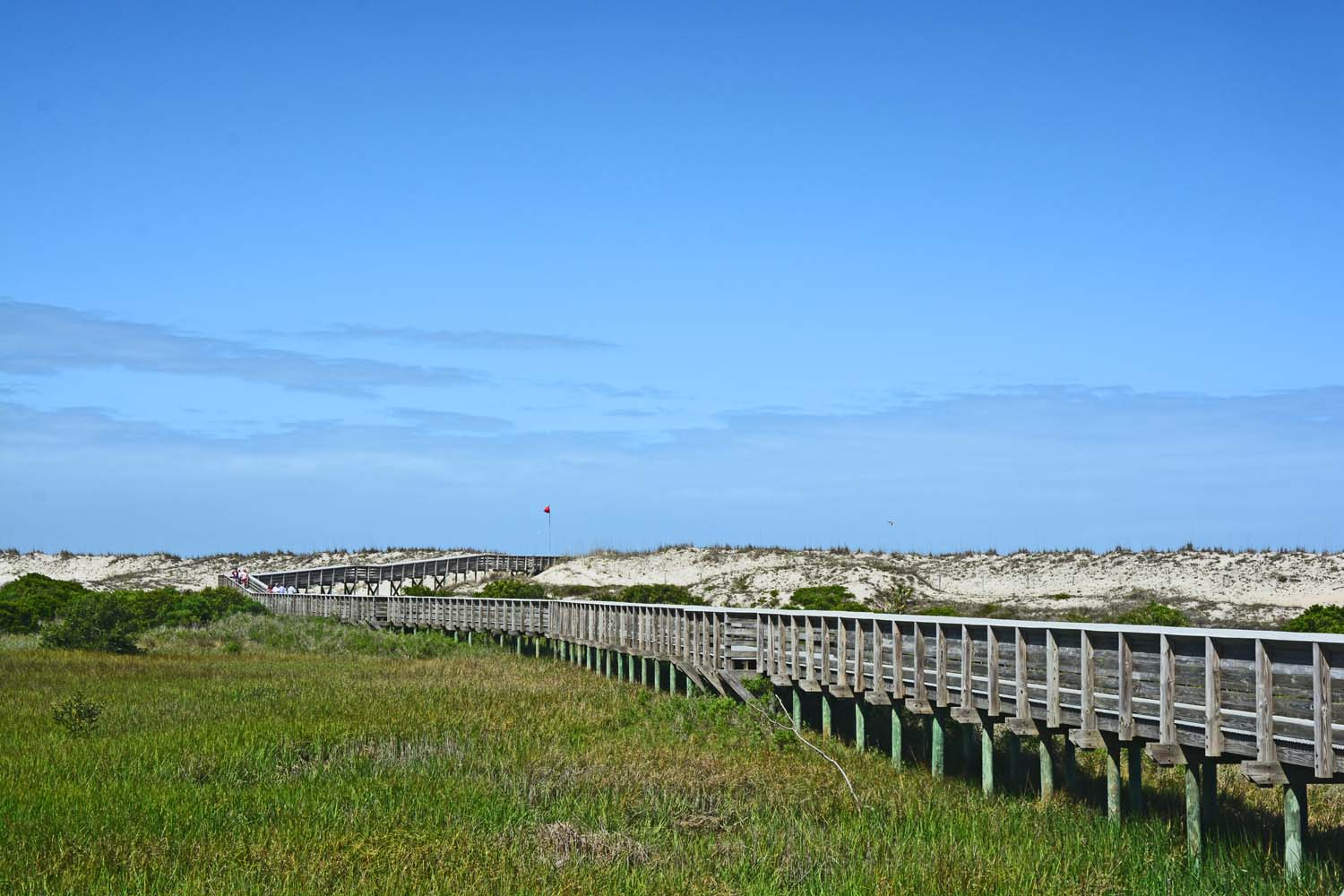 The boardwalk to the beach at Anastasia State Park St. Augustine, FL