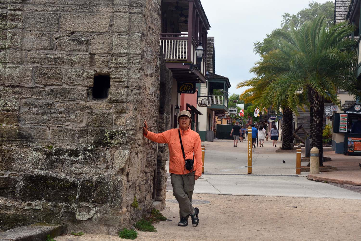 St Augustine walking tour starts here