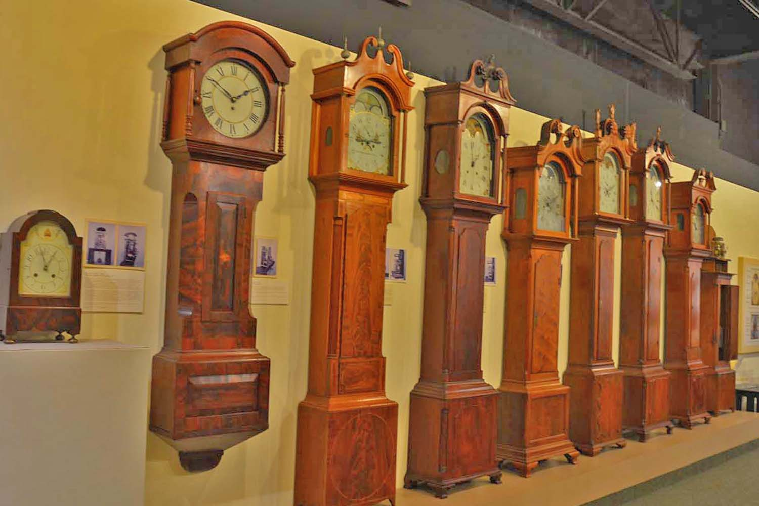 Really enjoyed seeing these old clocks