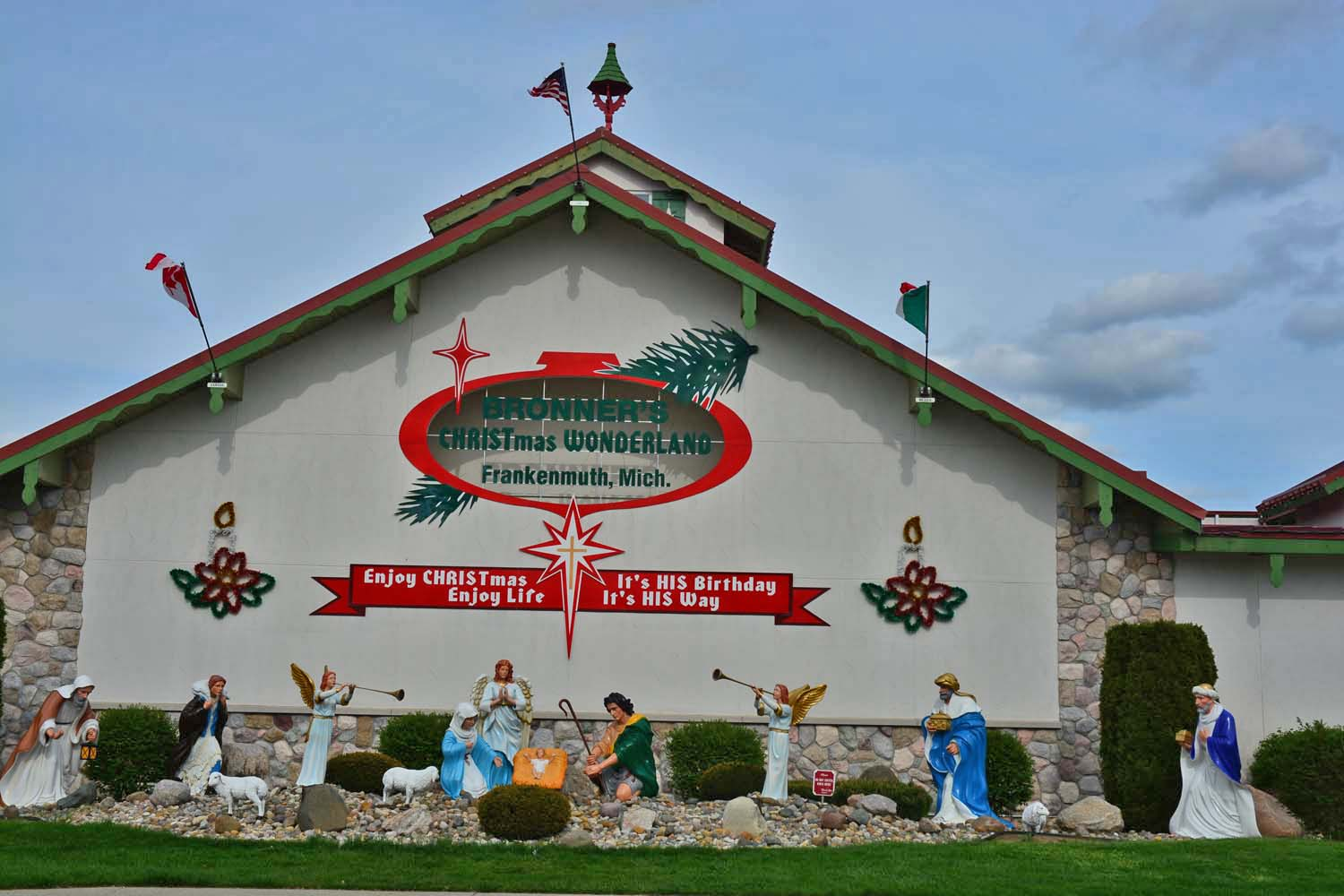 Bronner's Christmas Store Frankenmuth, Michigan