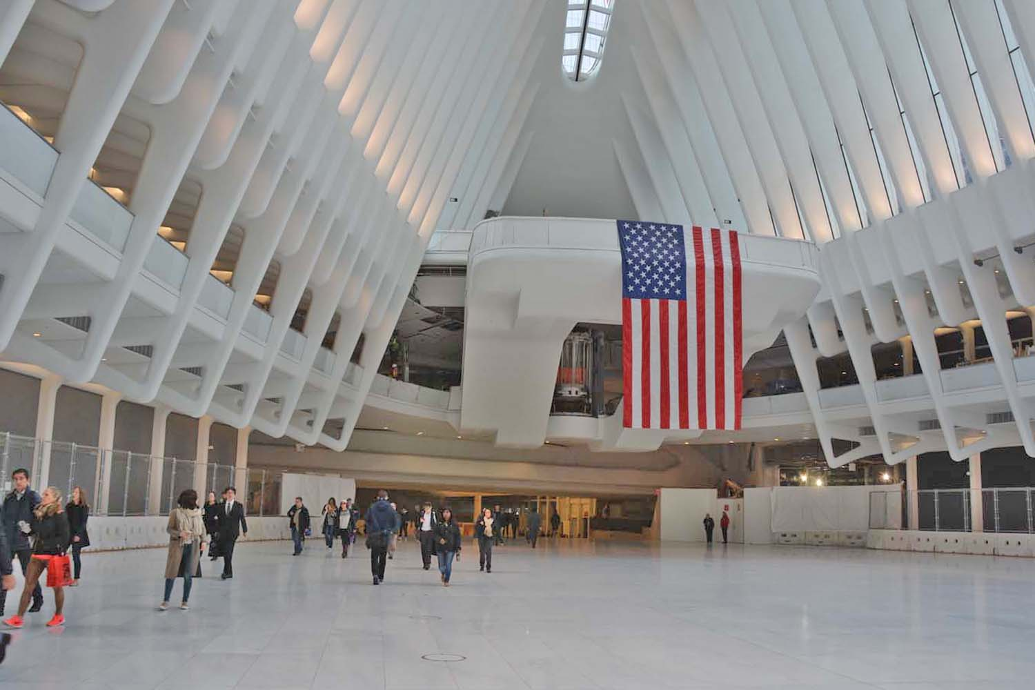 Inside World Trade Center