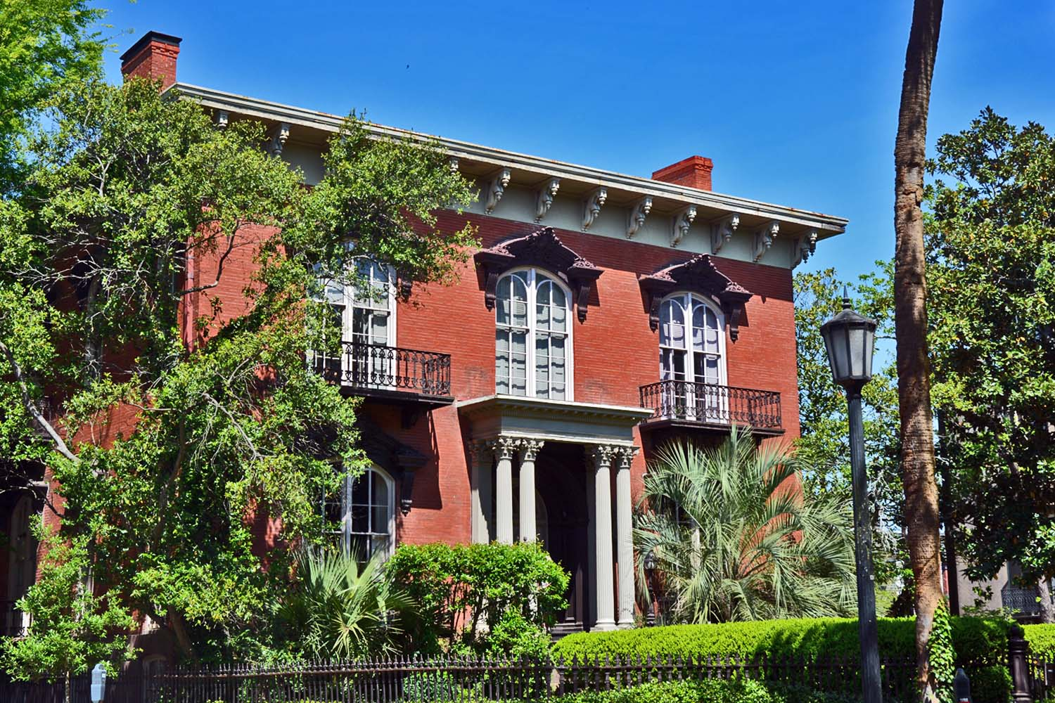 Savannah Mercer  House has lots of history