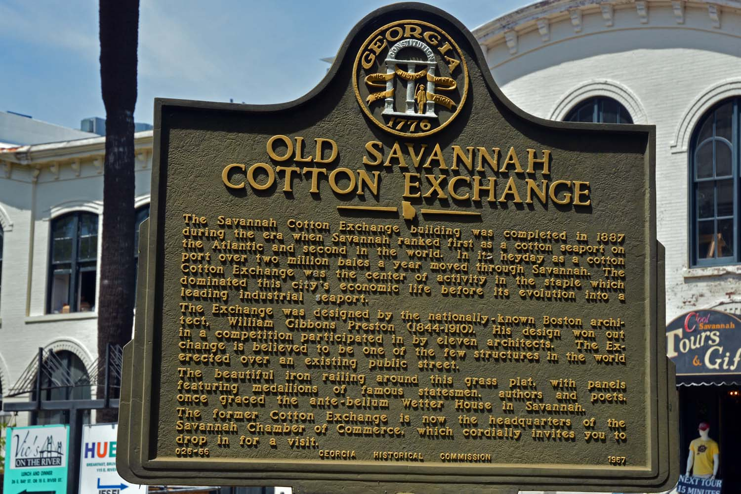 Savannah was once the King of Cotton