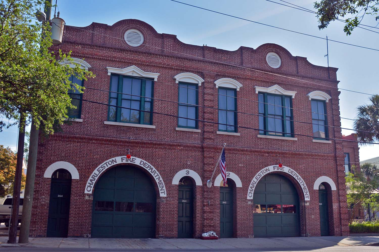 Charleston historic firestation