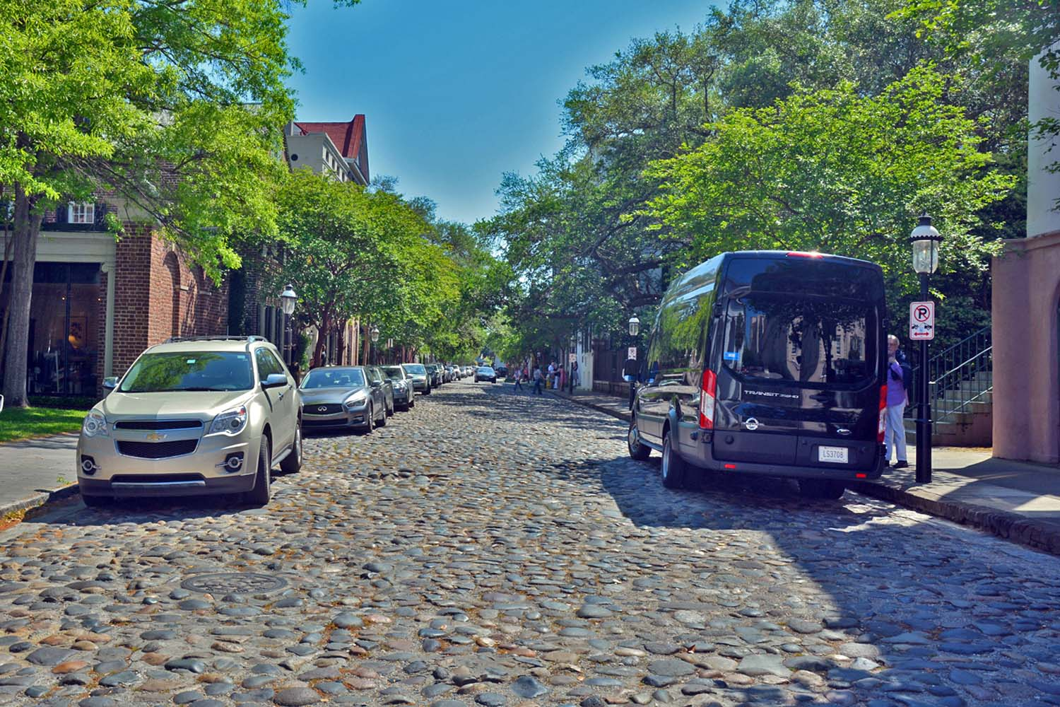Cobble Stone Street of Charleston
