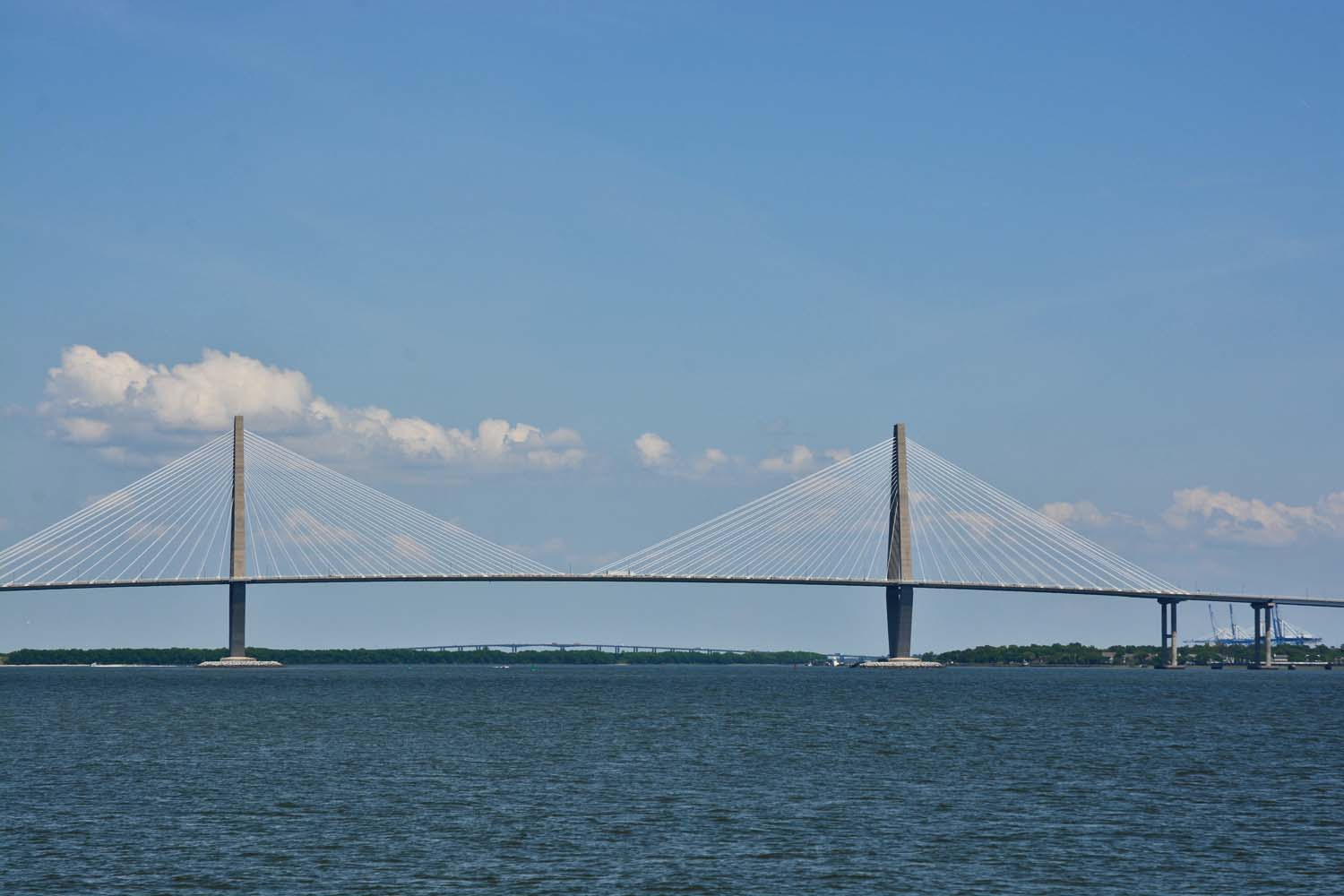 Arthur Ravenel Bridge over Cooper River