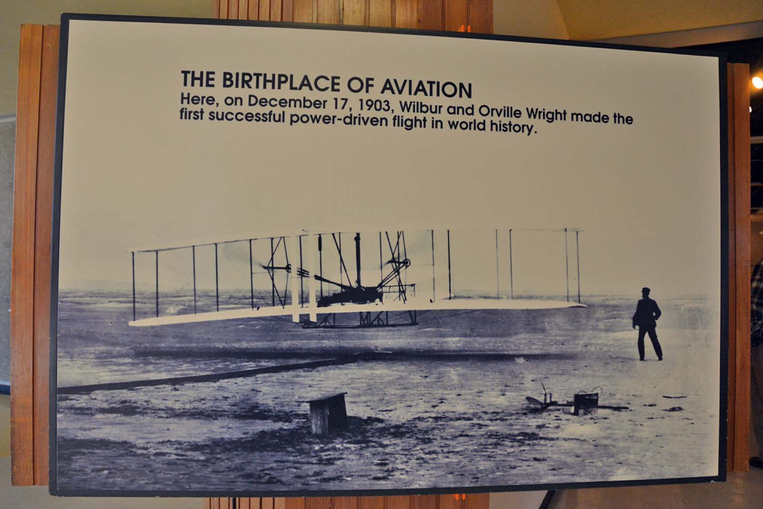Where Air Flight Began, the museum is well curated