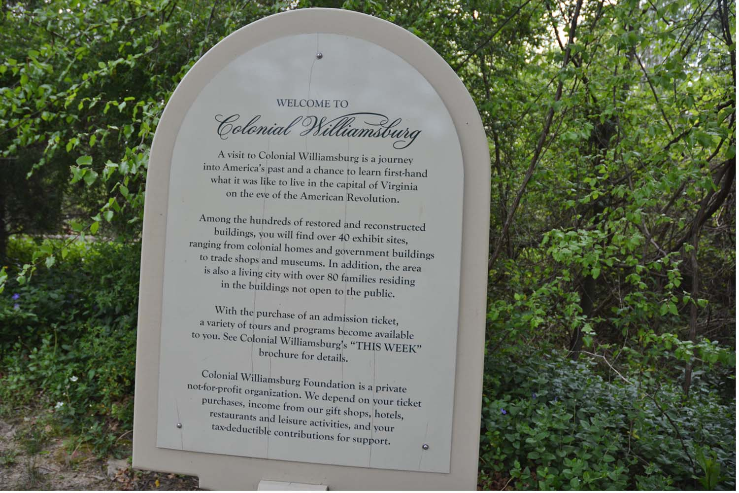 Lots to see at Historic Colonial Williamsburg