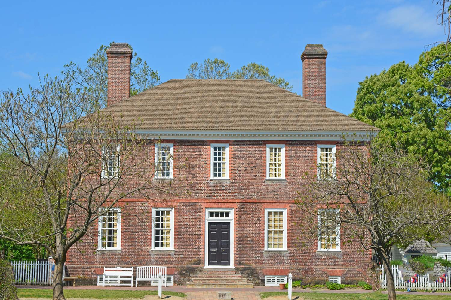 George Wythe House an original building