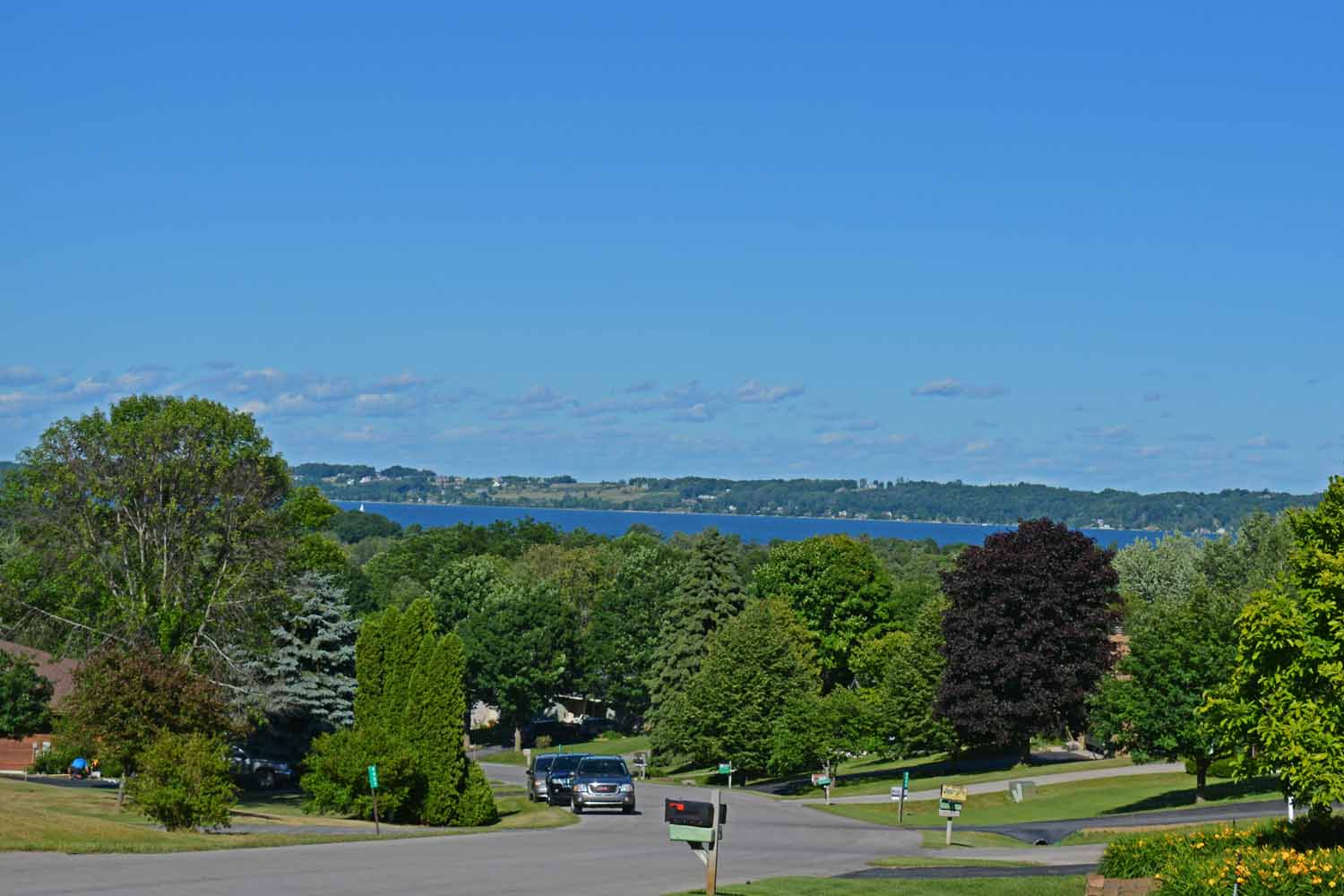 Grand Traverse Bay Blue...View From The Front Deck