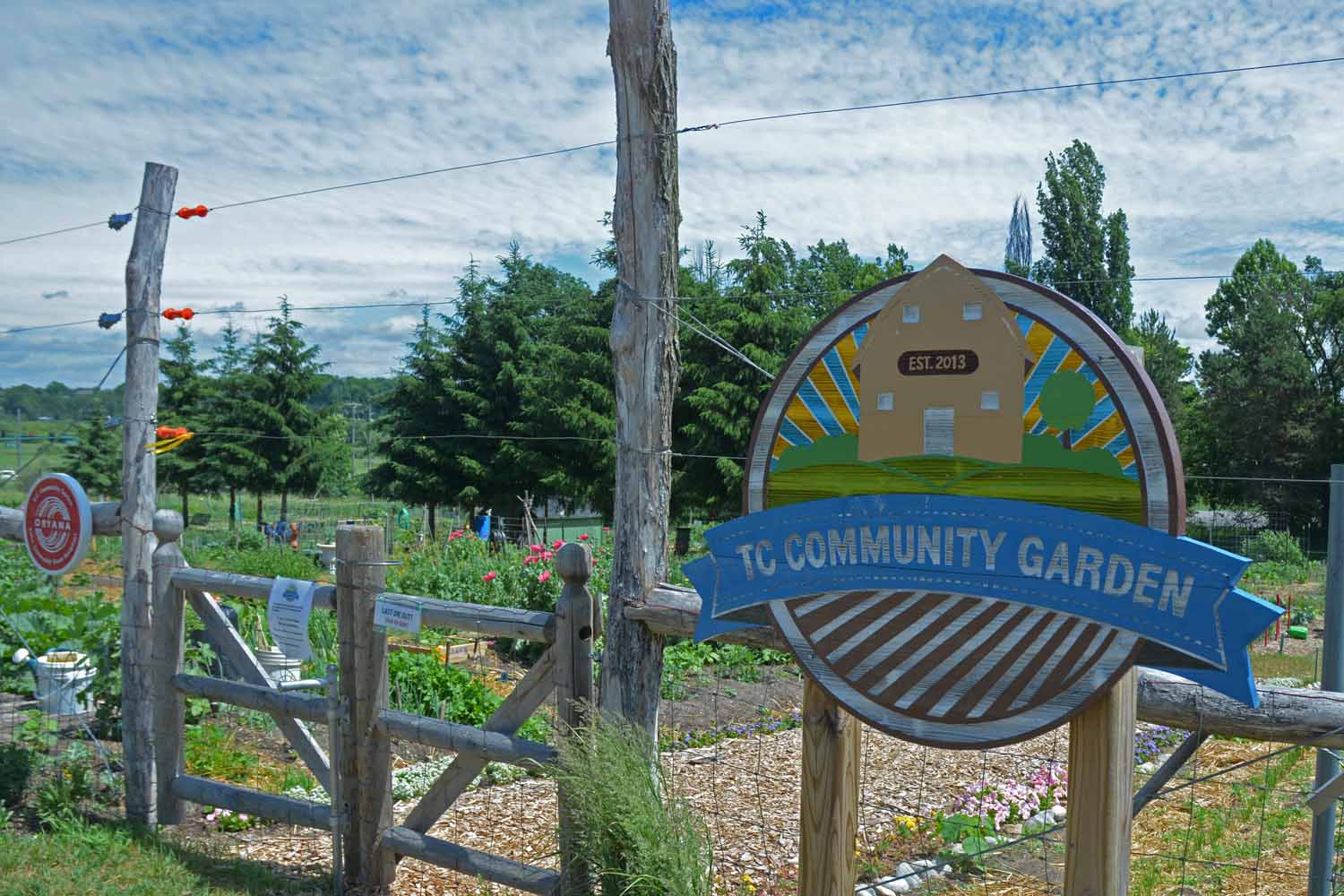 The TC Community Gardens A Great Project That Has Withstood The Test Of Time