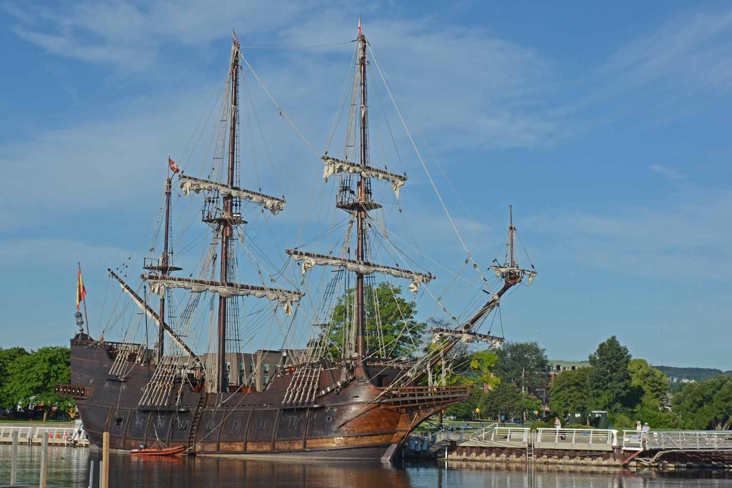 We Saw The El Galeon In Savannah In The Spring