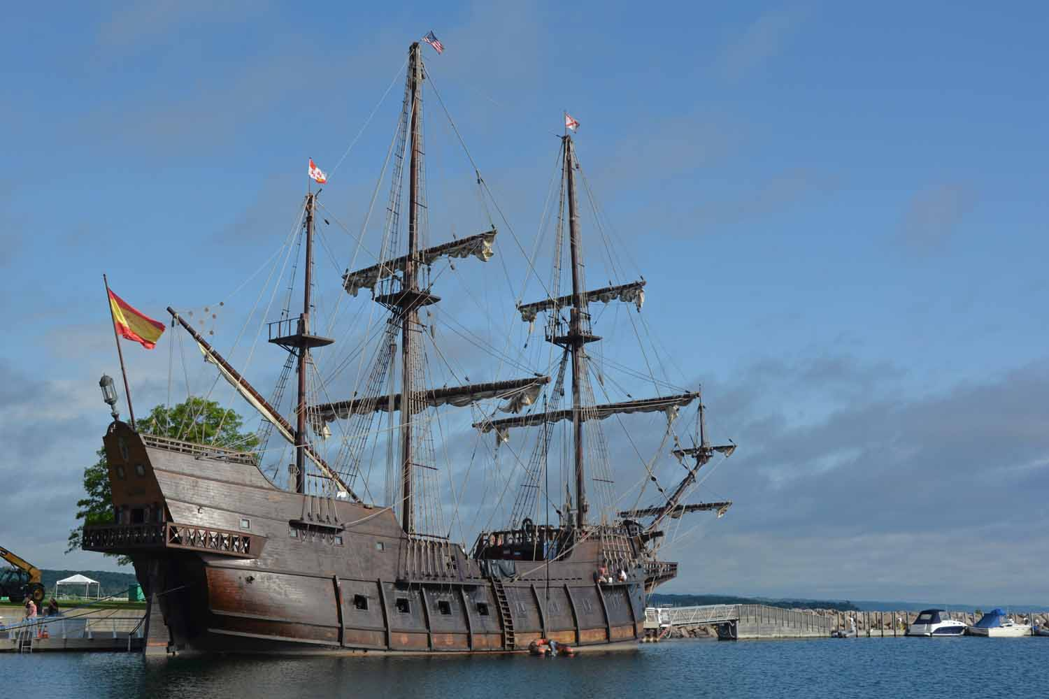 Great Example Of A Spanish Sailing Ship