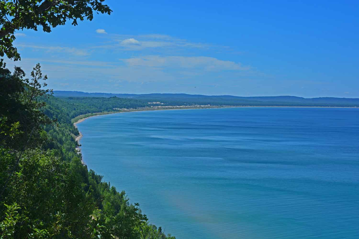 Lake Michigan At Sleeping Bear Looking South West