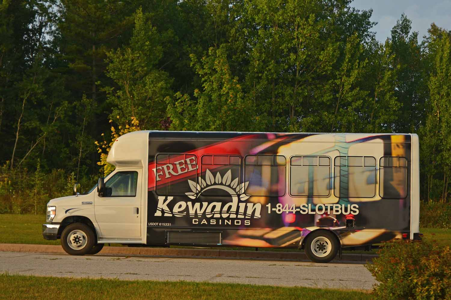 Kewadin Casino is a good first night out stay.  It gets us on the road and is only a two hour drive from Traverse City.  It is nice to be on the road with the planning and packing behind us.