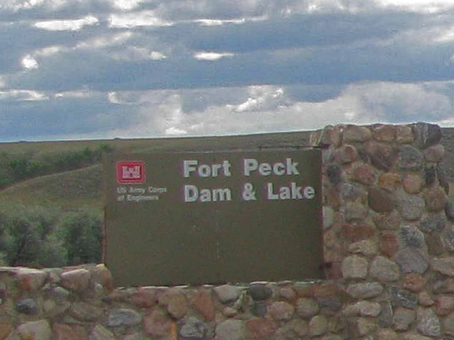 Forth Peck Dam is a Corps of Engineer project in Montana.
