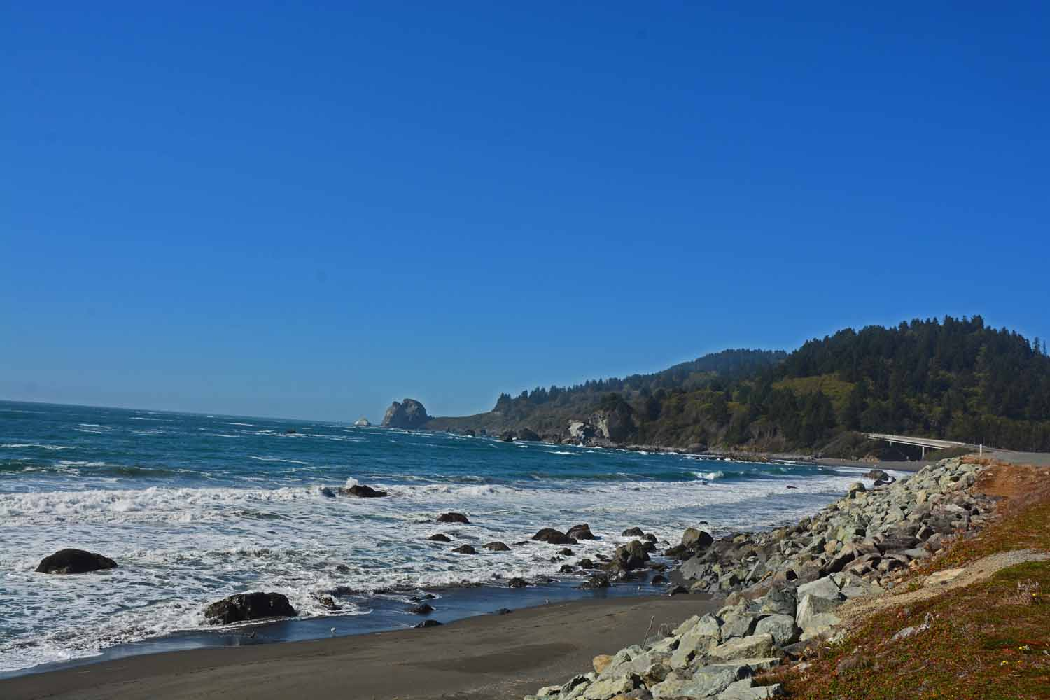 Northern California has a great coast too.