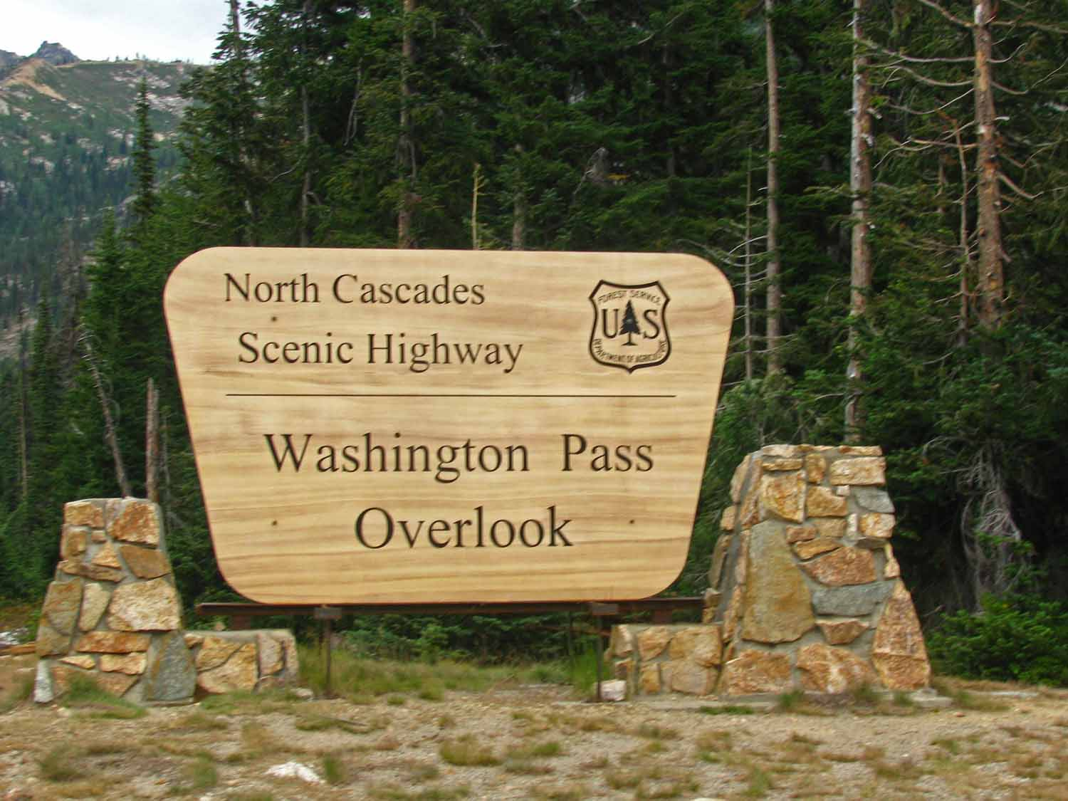 Washington Pass is an impressive stop