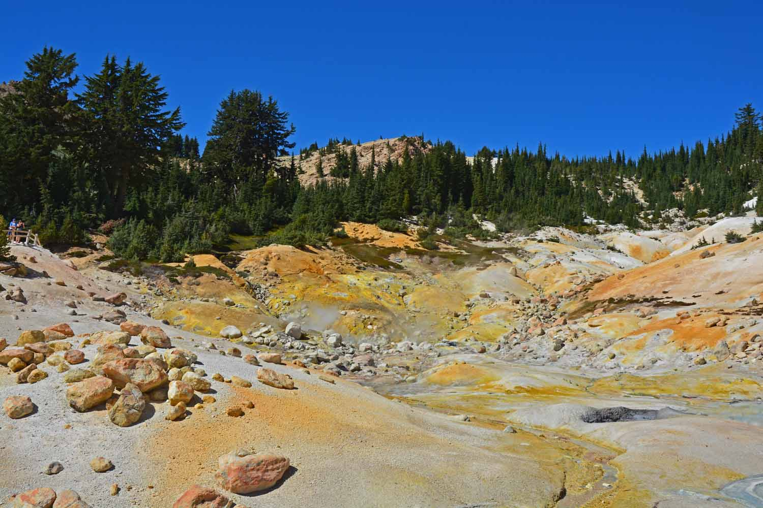 Yes, you can smell the sulfur...