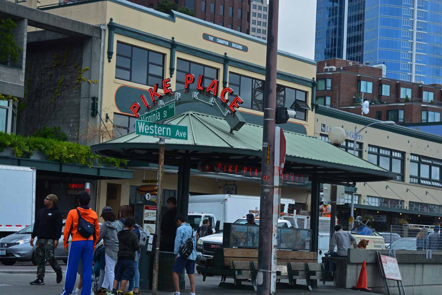 Pike Place Market is a must see.  This was our second time in Seattle and the market called us back.