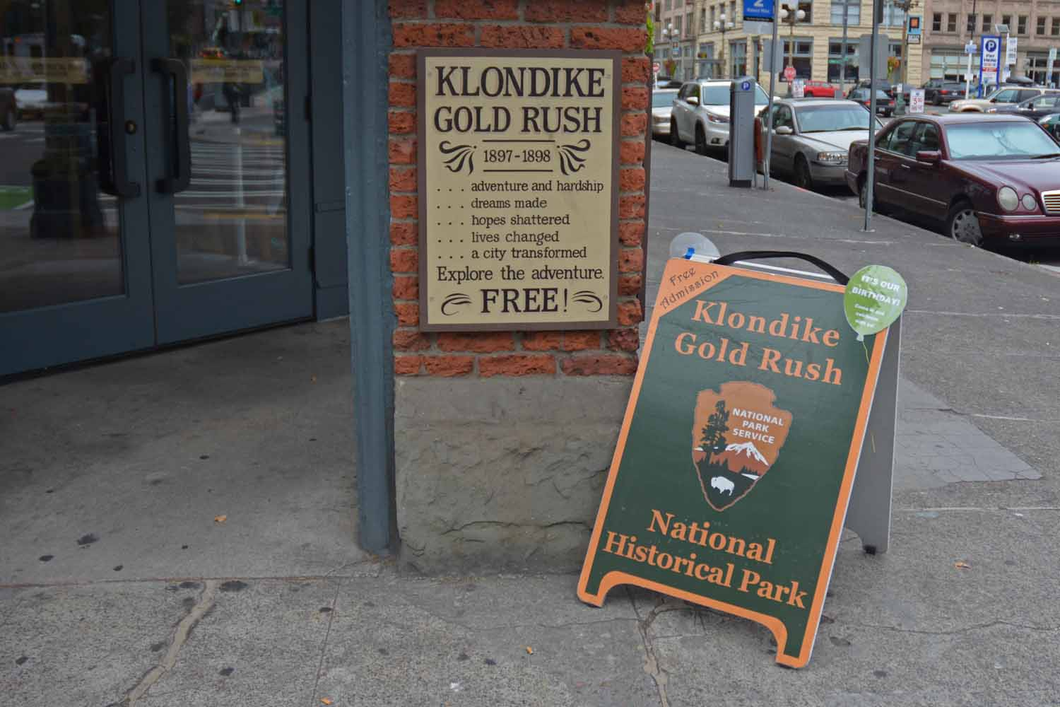 There is a National Park downtown.  It features the Klondike Gold Rush.  Since we had seen and heard the Alaska and Yukon story had to check out the Washington side of this time periodl